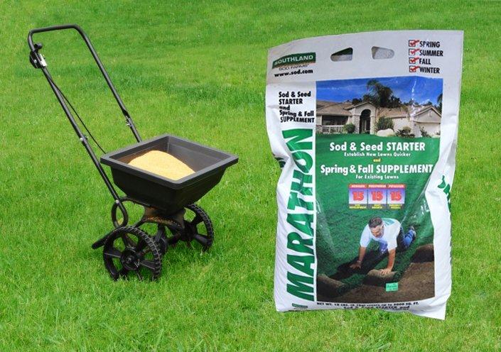 Fertilizing Southland Sod Farms