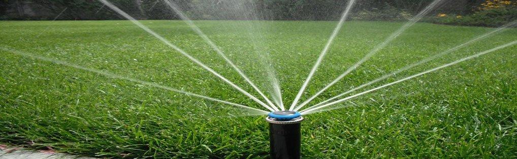 "Use ""stream rotator"" sprinkler for maximum efficiency. (lawnbeltusa.com)"